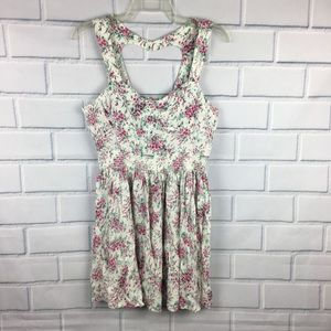 Lauren Conrad mini dress floral 10